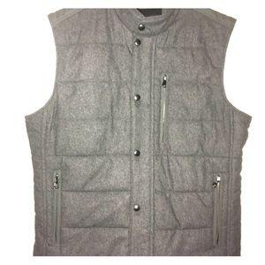 Banana Republic Gray flannel vest